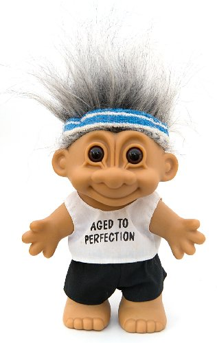 My Lucky Aged to Perfection Troll Doll ~ LARGE 8.5
