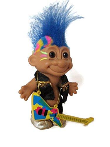 Lucky Troll ROCK N' ROLL Rocker Troll Doll