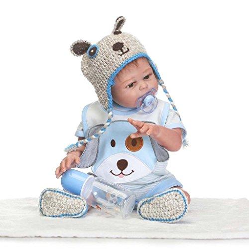 TERABITHIA 20inch Alive Silicone Full Body Reborn Baby Boy Dolls Washable