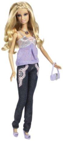 Barbie Fashion Fever - Disco Ball Barbie Doll - Glitter Jeans